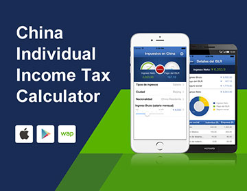 China Individual Income Tax Calculator