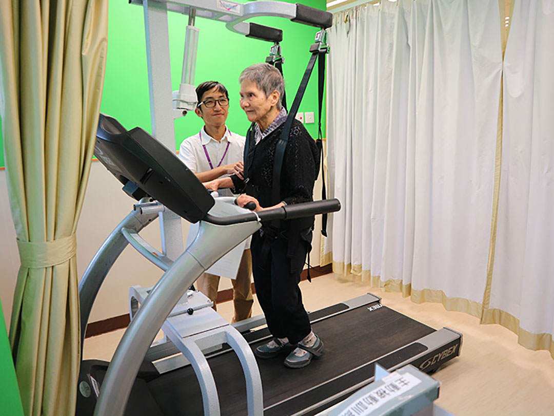 Donation of Rehabilitation Equipment