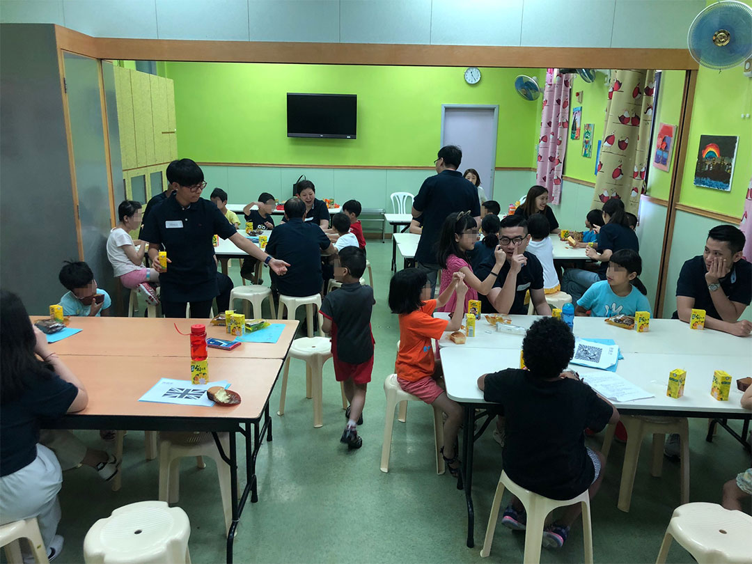 A Visit to Children at Po Leung Kuk
