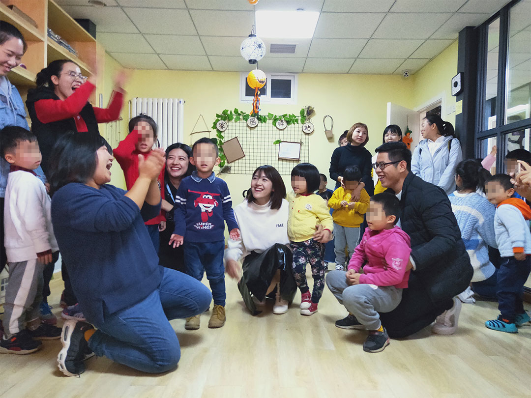 A Visit to Children with Autism, Lighting the Heart, Walking with Love
